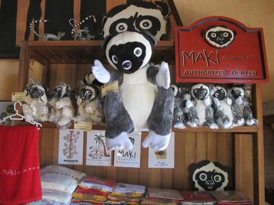 Lemurs Park : Магазин сувениров