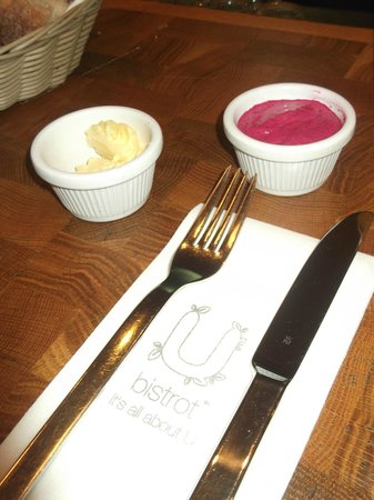 U Bistrot : delicious dips