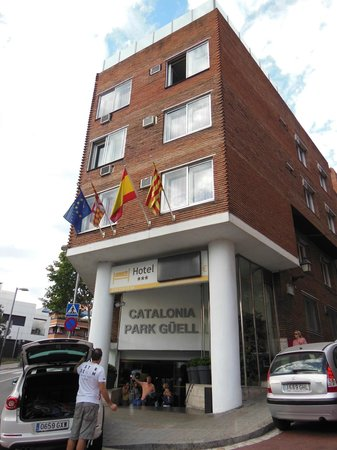 Catalonia Park Guell: Hotel