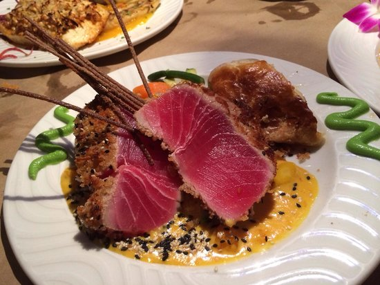 Snappers Sea Grill : Signature Tuna