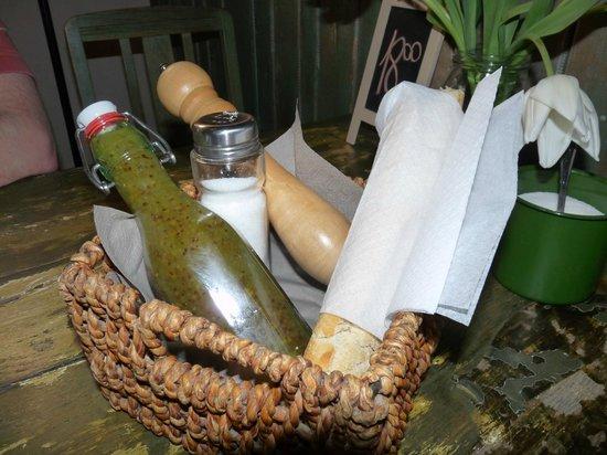 Weranda Caffe: Salatdressing