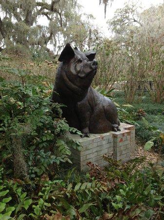 Brookgreen Gardens: Humble Pig