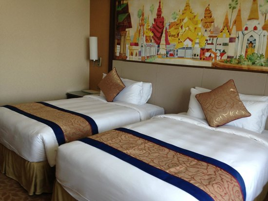 Sule Shangri-La Yangon : The room