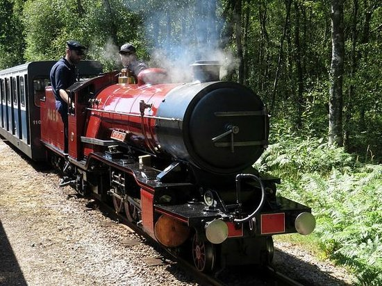 Ravenglass and Eskdale Railway: River Mite (2-8-2)  Year of Build: 1966