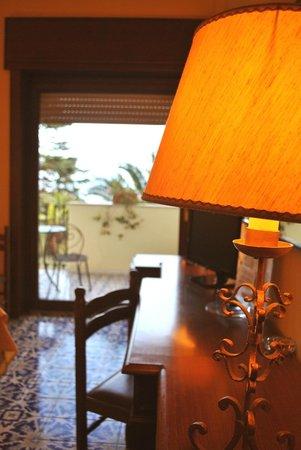Grand Hotel Hermitage & Villa Romita: Room and balcony.