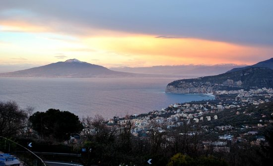 Grand Hotel Hermitage & Villa Romita: A million dollar view from the hotel.
