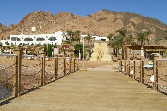 Le Meridien Dahab Resort : Hotel from beach