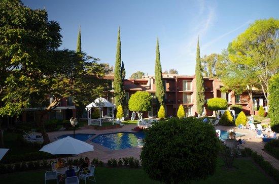Real de Minas San Miguel de Allende : Номер с балкона номера