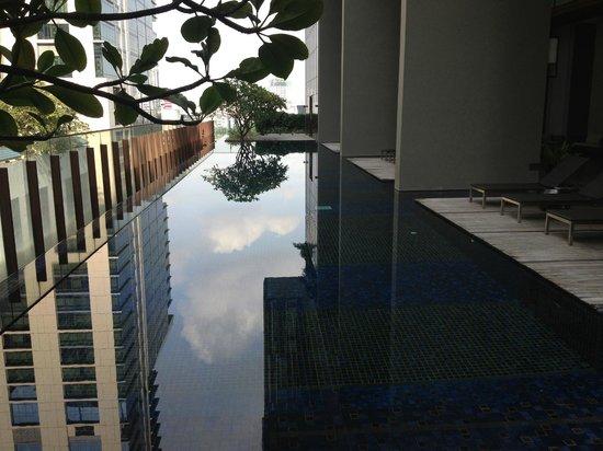 Hansar Bangkok Hotel: Pool area was exquisite.