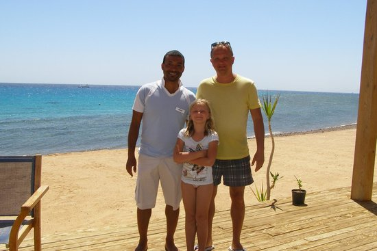 Le Meridien Dahab Resort : My friend - Ameer