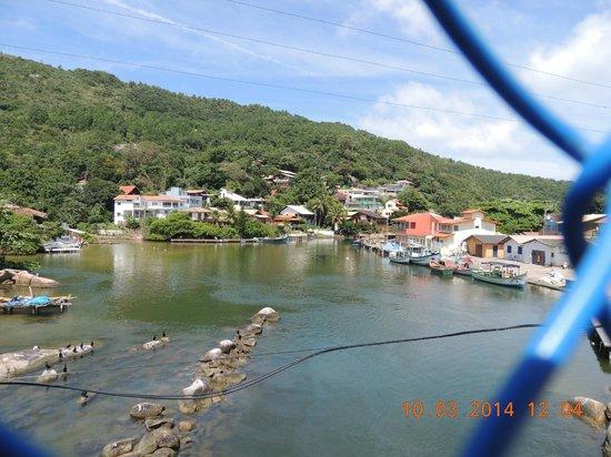 Barra da Lagoa Beach: desde el puente