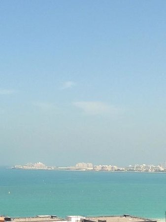 Amwaj Rotana : view from our room (6th floor)