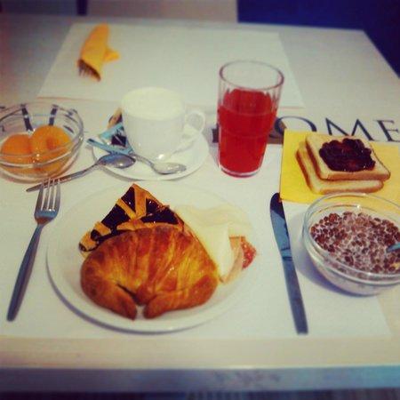 Star of Rome: breakfast