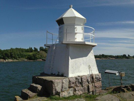 Fortaleza de Suomenlinna: Lighthouse as in the review