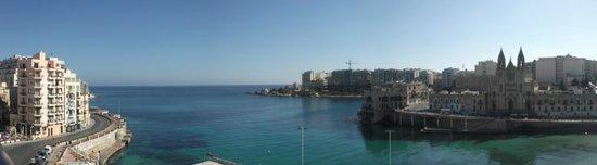 St. Julian's Bay Hotel: view from balcony