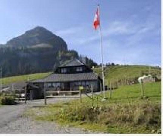 Caux, Sveits: Chalet Le Manoïre, Col de Jaman