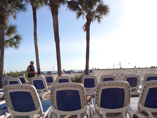 TradeWinds Island Grand Resort : Beach Chairs