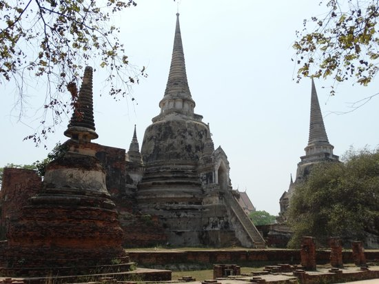 Wat Phra Sri Sanphet, Ayutthaya. - Picture of Wat Phra Sri Sanphet, Ayutthaya...