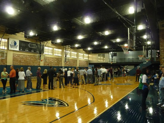 American Airlines Center: The practice court