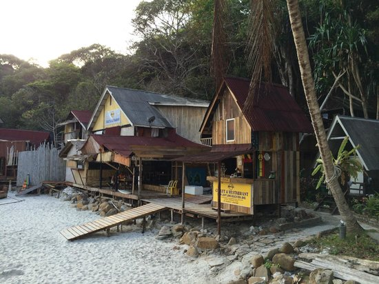 Long Beach: Moonlight Chalet, shabby looking but rustic