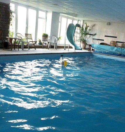 Glebe House B & B: The heated indoor swimming pool.