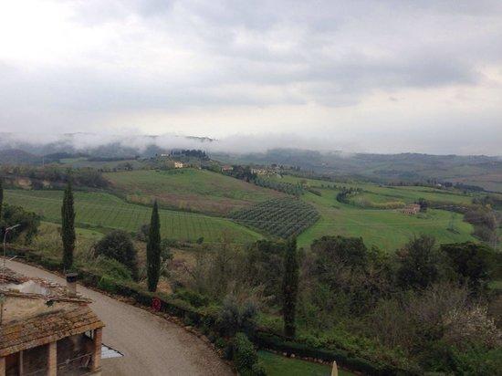 Agriturismo La Piazzetta: La vista dalla torre del podere