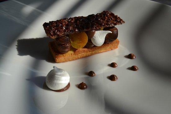 Le Refuge des Gourmets: dessert chocolat-poire