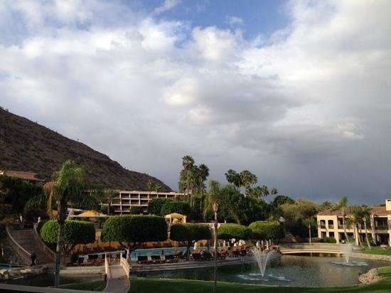 The Phoenician, Scottsdale: view from our room