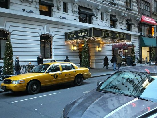 Hotel Metro: Excellent location
