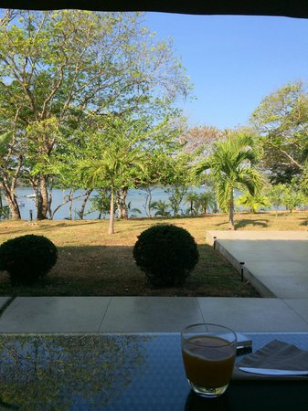 Hotel Bocas del Mar: View from breakfast