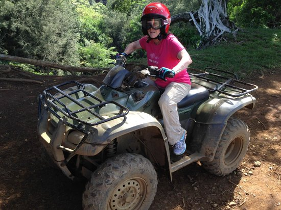 ATV Outfitters Hawaii : Piece of cake!