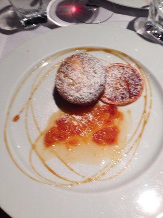 tortino al cioccolato bianco, arancia e grand marnier - picture of ... - Hotel Bel Soggiorno San Gimignano Tripadvisor 2