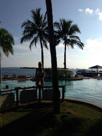 Royal Island Resort & Spa: Morning view by pool