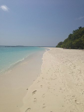 Royal Island Resort & Spa: Oh how quite it is