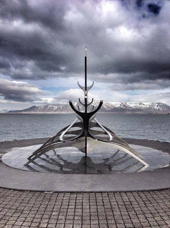 Solfar (Sun Voyager) Sculpture: To infinity and beyond!