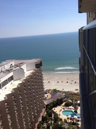 Royale Palms Condominiums by Hilton: View from our room on the 23rd floor