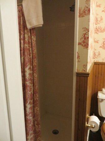 The Mason Cottage Bed & Breakfast Inn : Bathroom shower