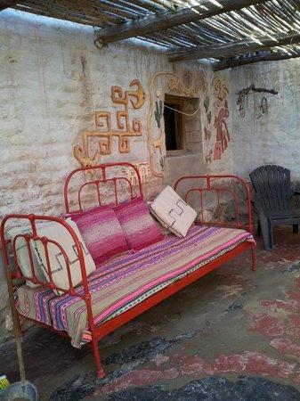 Pacha Cuty Hostel : Este lugar te invita a la lectura, a largas charlas o simplemente a descanzar..