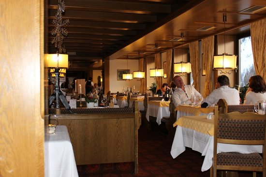 Hotel Zebru: sala pranzo