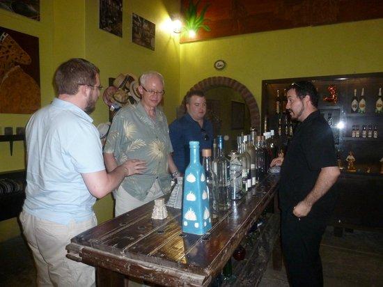 Jazmin's Restaurant: Tequila tasting!!