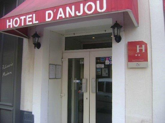 D'Anjou Hotel Paris: Entrada