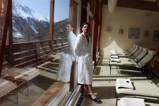 Hotel Zebru: sala relax