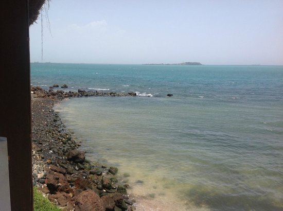 Savana Jardin-Hotel Dakar : views from restaurant