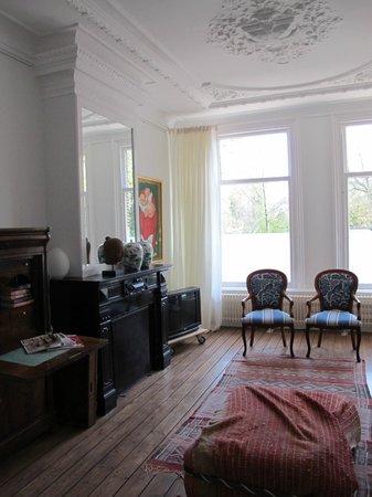 Amsterdam B&B Park9 : salotto ad uso ospiti