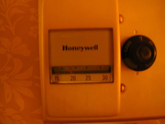 The Sutton Place Hotel Edmonton: a very old temperature control
