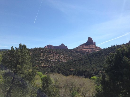 Sedona Views Bed and Breakfast : View to the northeast