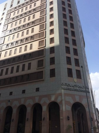 Dar Al Hijra InterContinental Madinah : View of hotel from outside
