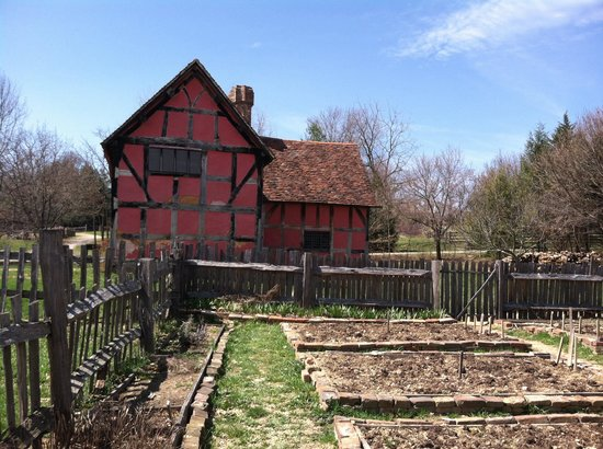 Frontier Culture Museum: The kids' favorite:  the English farm.