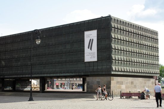 The Museum of the Occupation of Latvia: Exterior