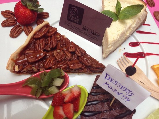 Restaurante El Barrio Latino: Desserts tous fait maison!